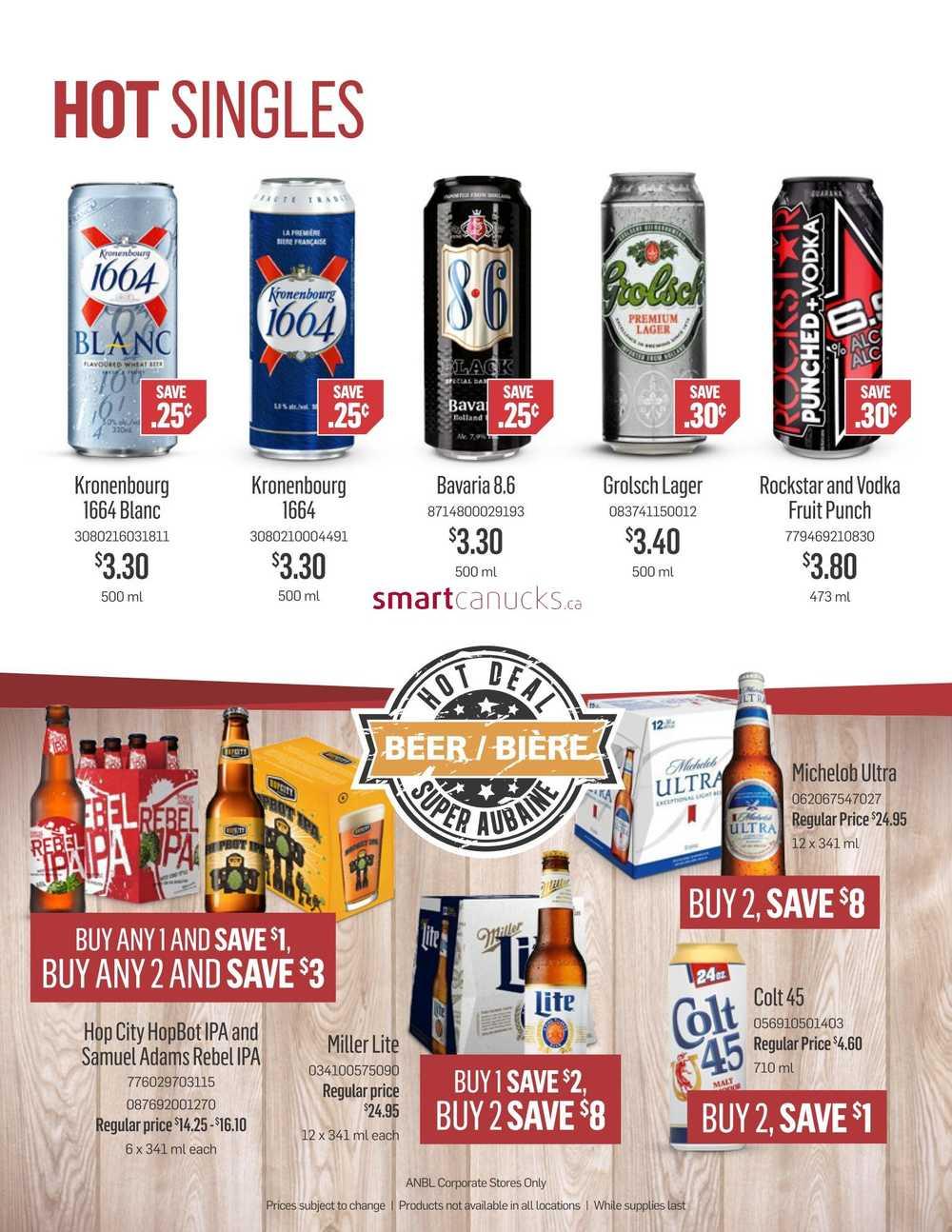 Nb liquor coupons