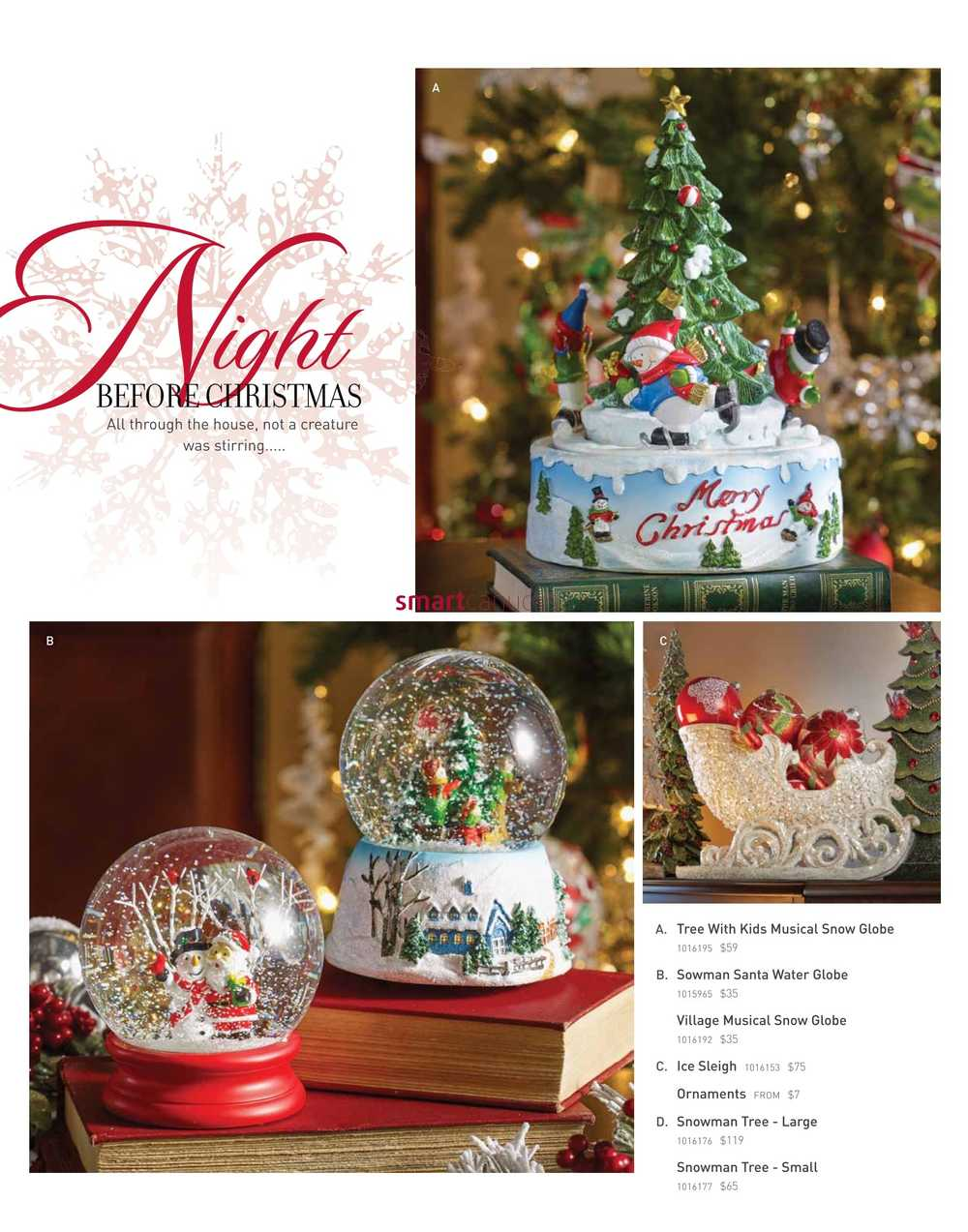 Bombay holiday decor book october 24 to december 24 for Home bargains christmas decorations