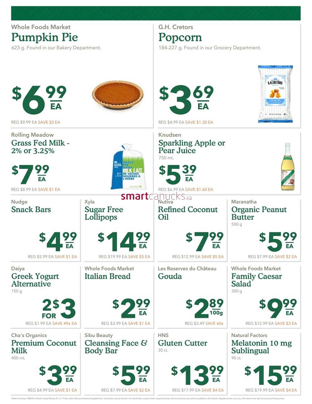 Whole Foods Coupons October