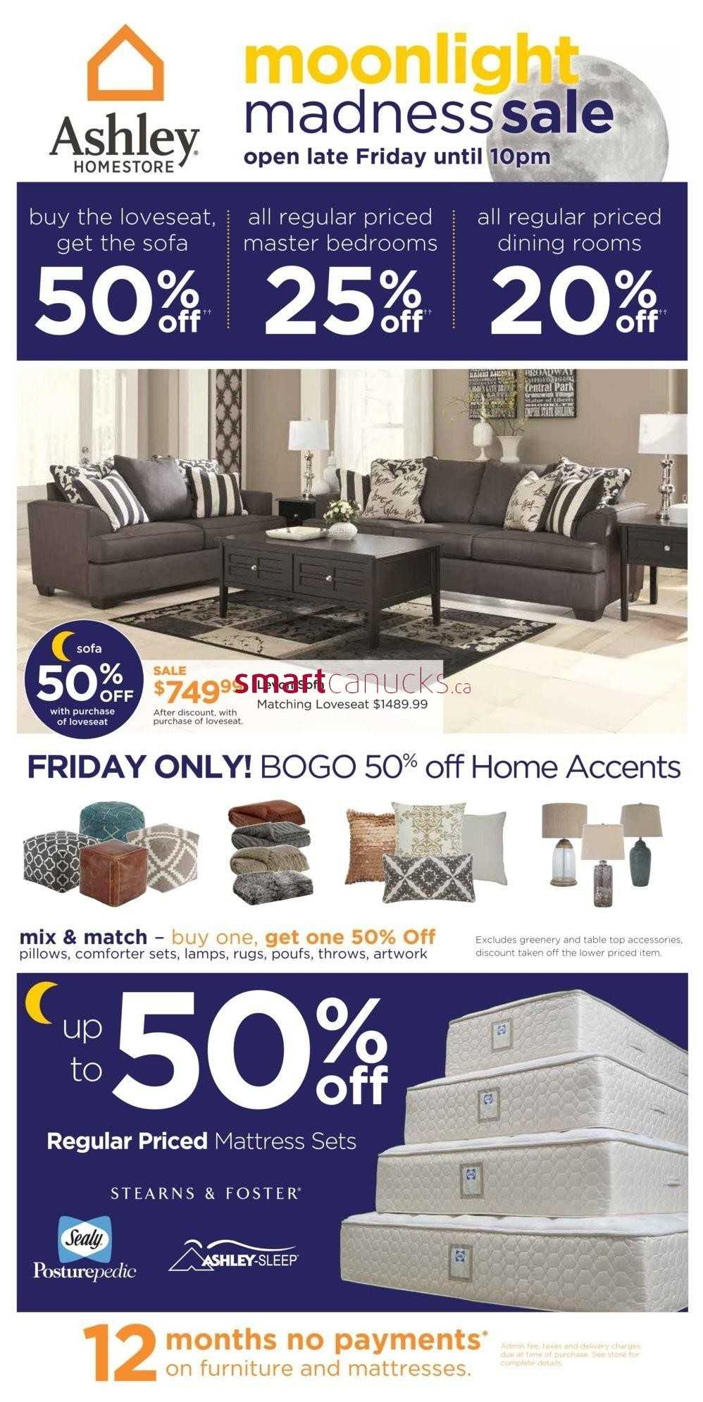 Ashley furniture homestore canada flyers Ashley home furniture weekly ad