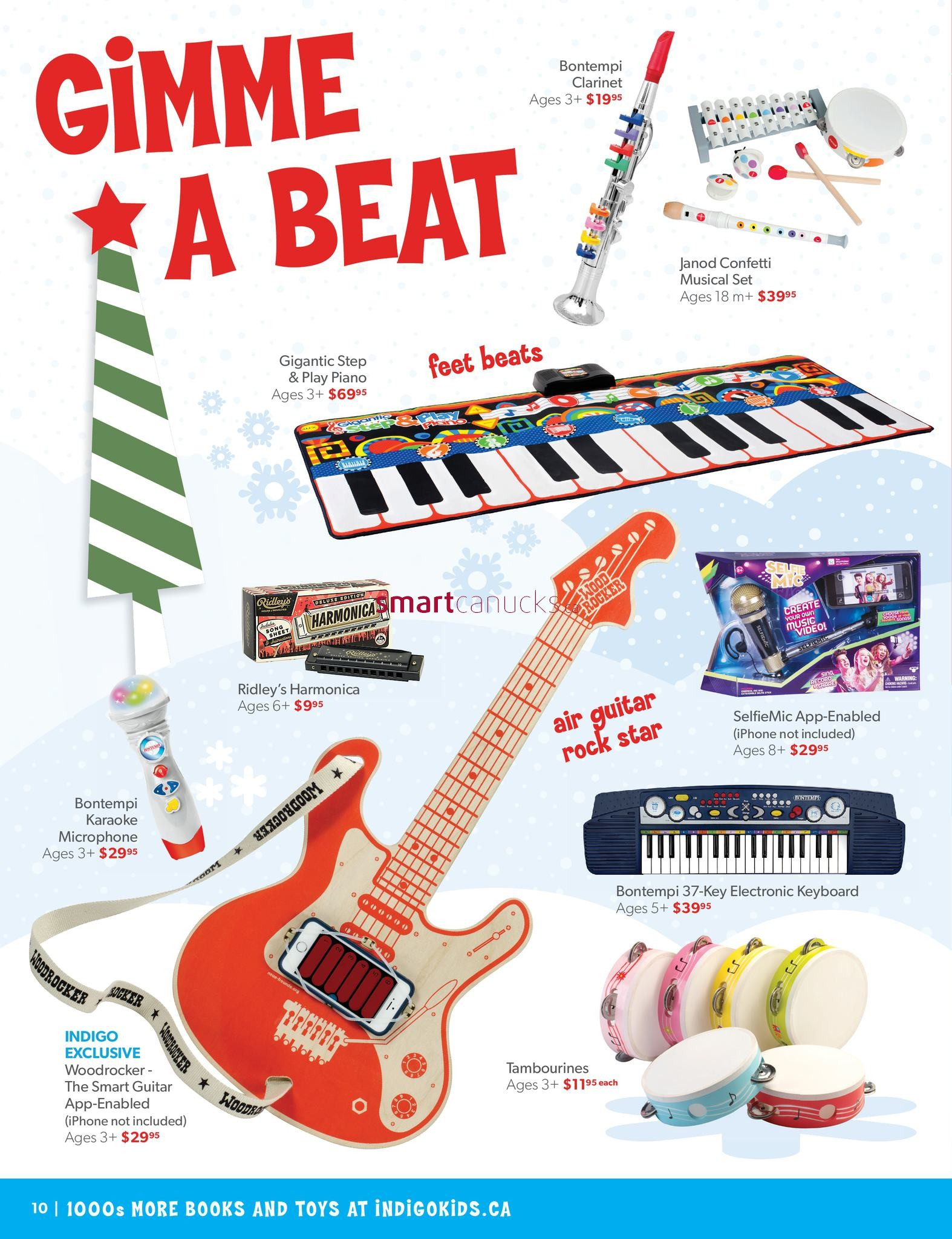 Indigo Chapters Kids Toy & Books Catalogue November 3 to December 24