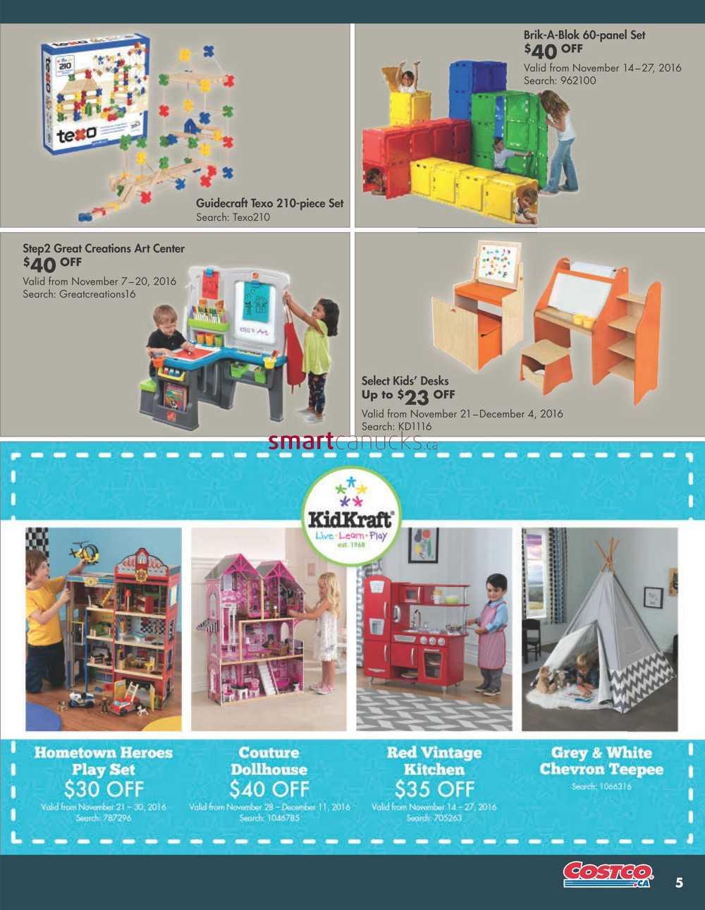 costco online catalogue november 1 to december 31. Black Bedroom Furniture Sets. Home Design Ideas