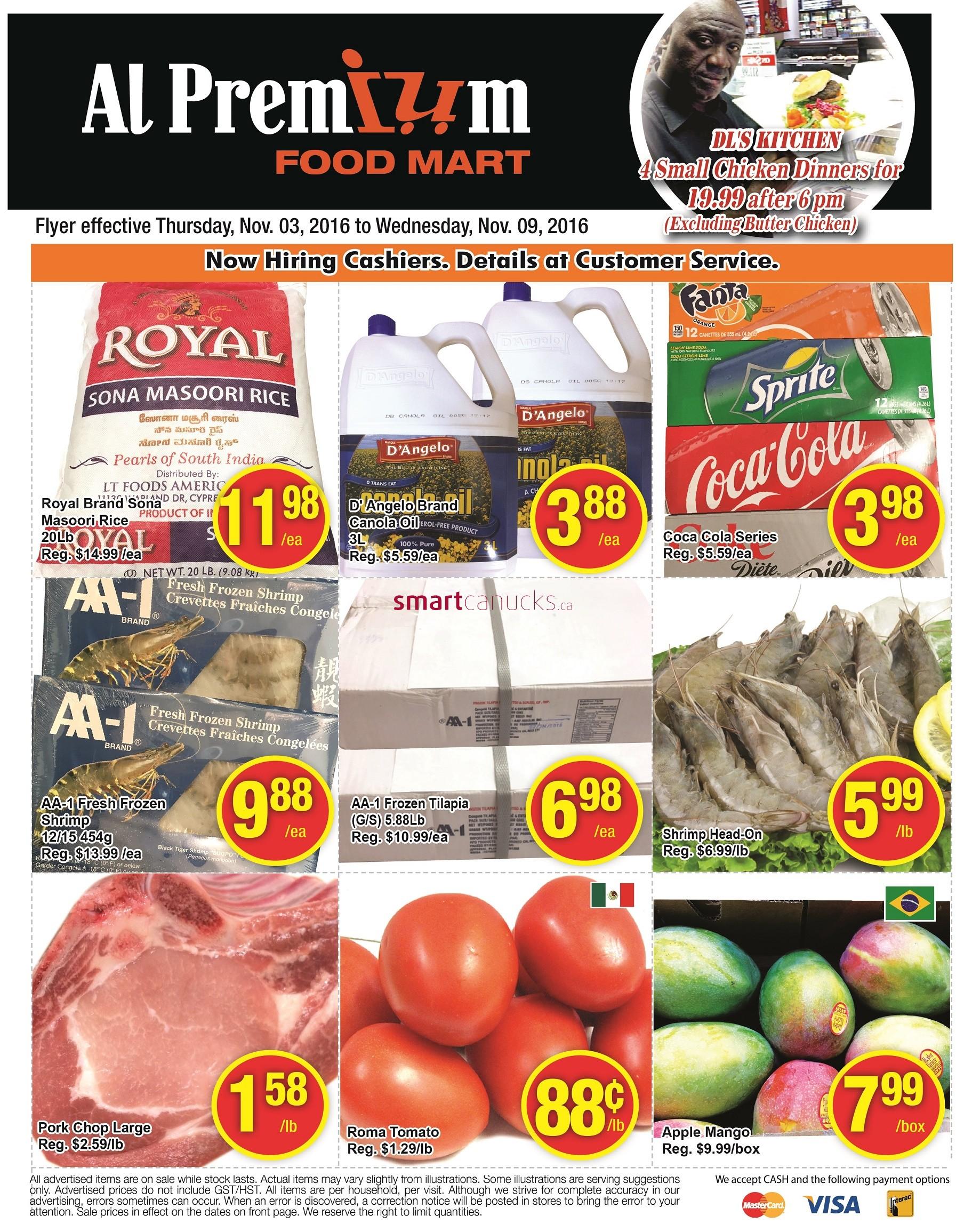 al premium food mart canada flyers