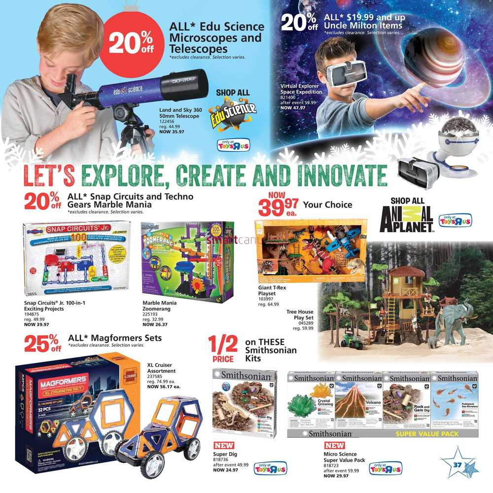 Toys R Us Toy Book November 4 to 17