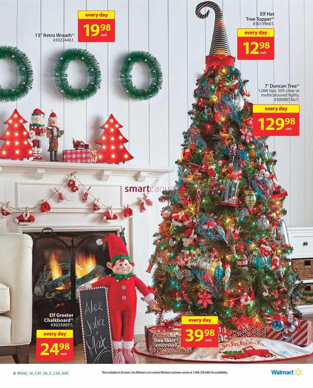 Walmart Holiday Decor & Entertaining Catalogue November 10 to 23