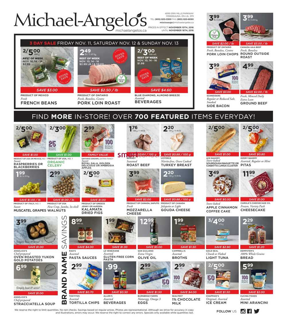 Michaels coupons mississauga ontario