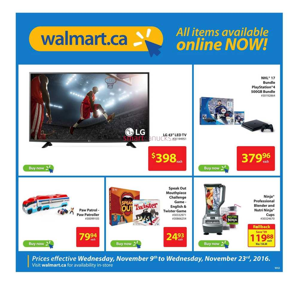Shop Walmart Canada Online. If you're in Canada and want to shop Walmart online, please visit neavrestpa.ml Opens in new window. Walmart Canada is the online sales site for Canada only. Walmart Canada does not ship outside of Canada. To find a store in Canada, please visit the Walmart Canada Store Finder. Opens in new window.