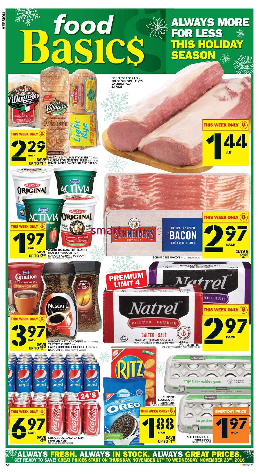 Food Coupons Canada
