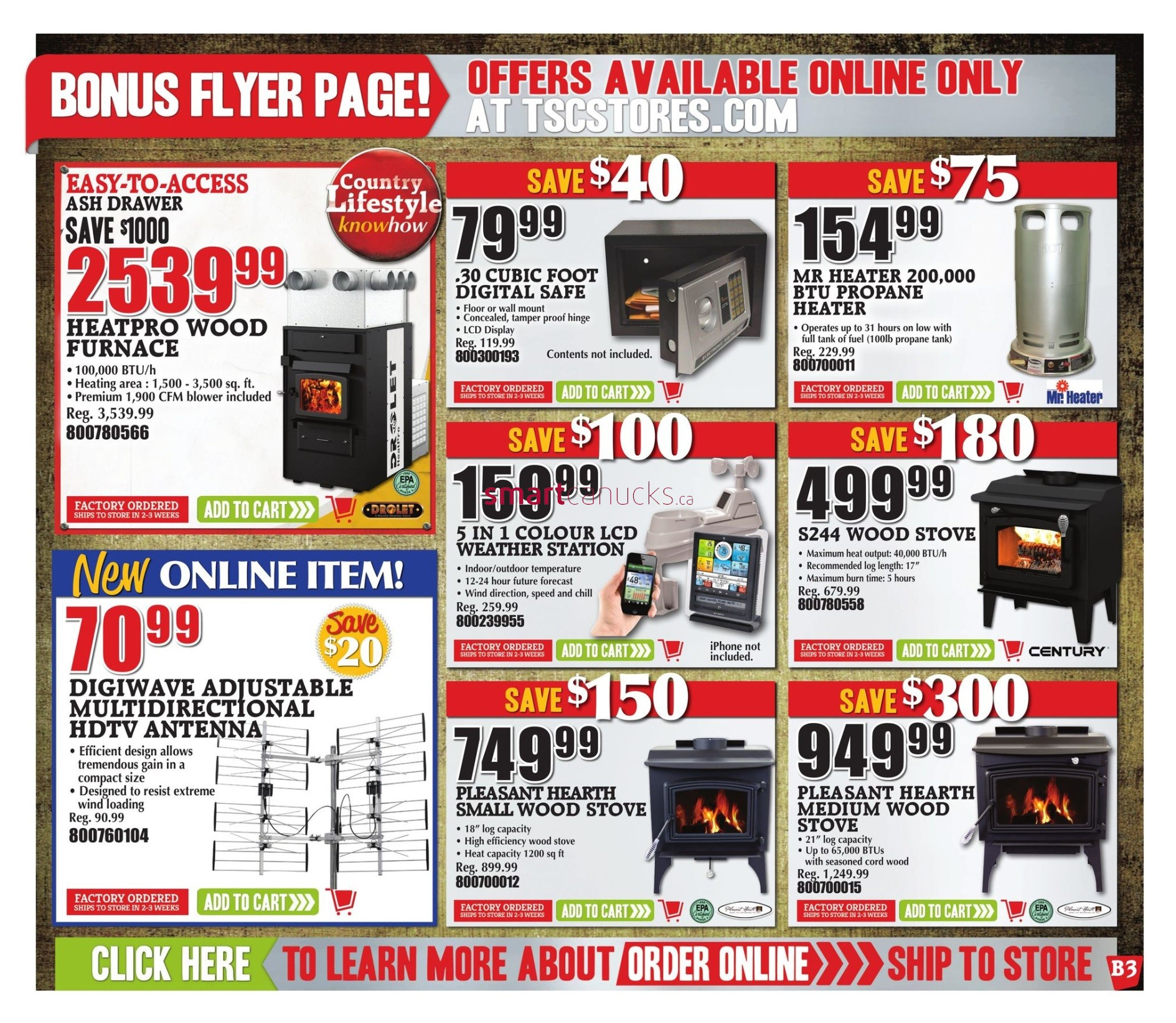 tsc stores flyer november 18 to 23