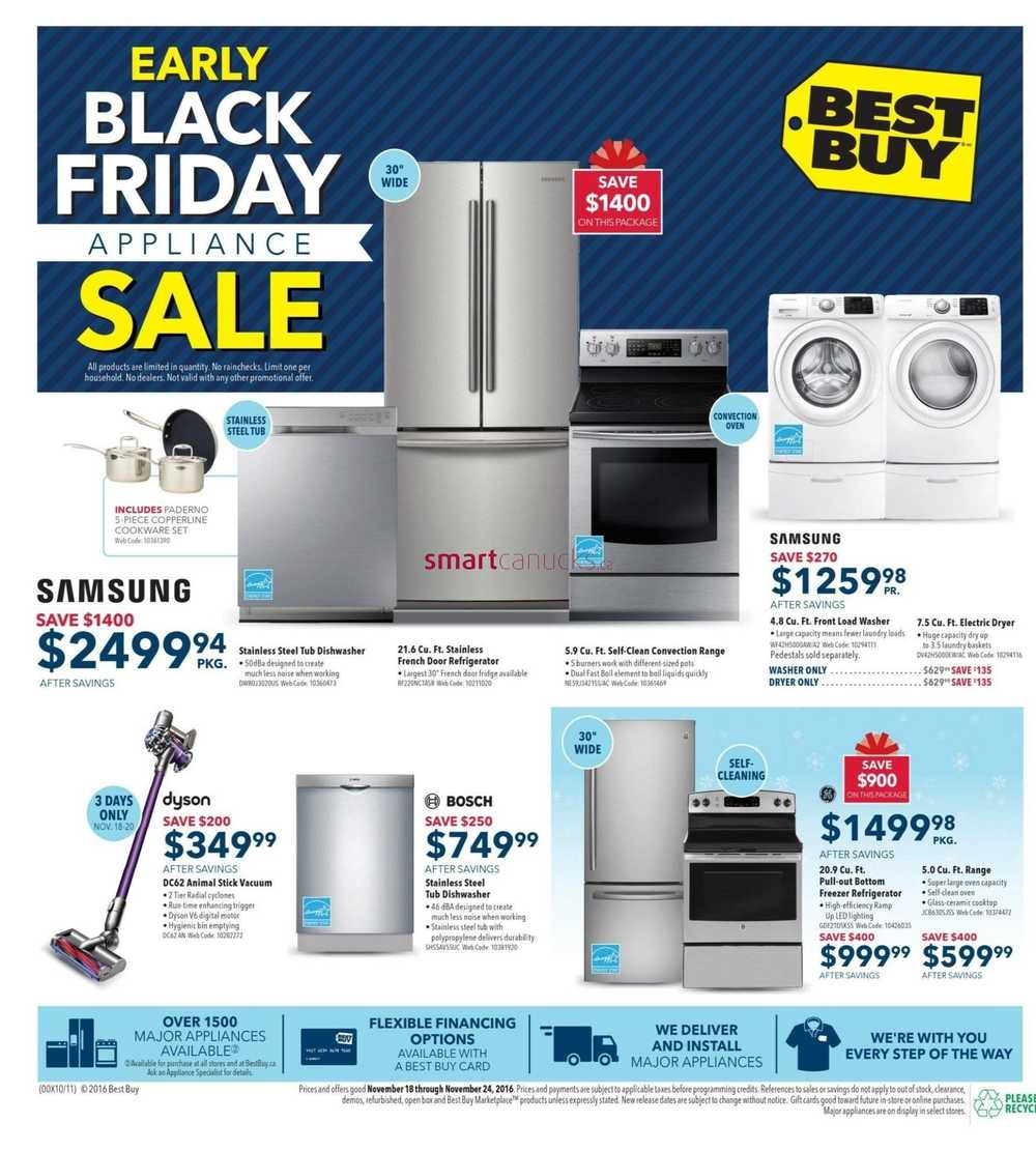 Best Buy Early Black Friday Sale Flyer November 18 To 24