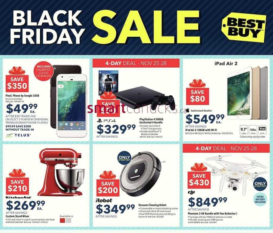 Best Buy Canada Black Friday Flyer Nov 25 Dec 1 2016 Best Buy Flyer