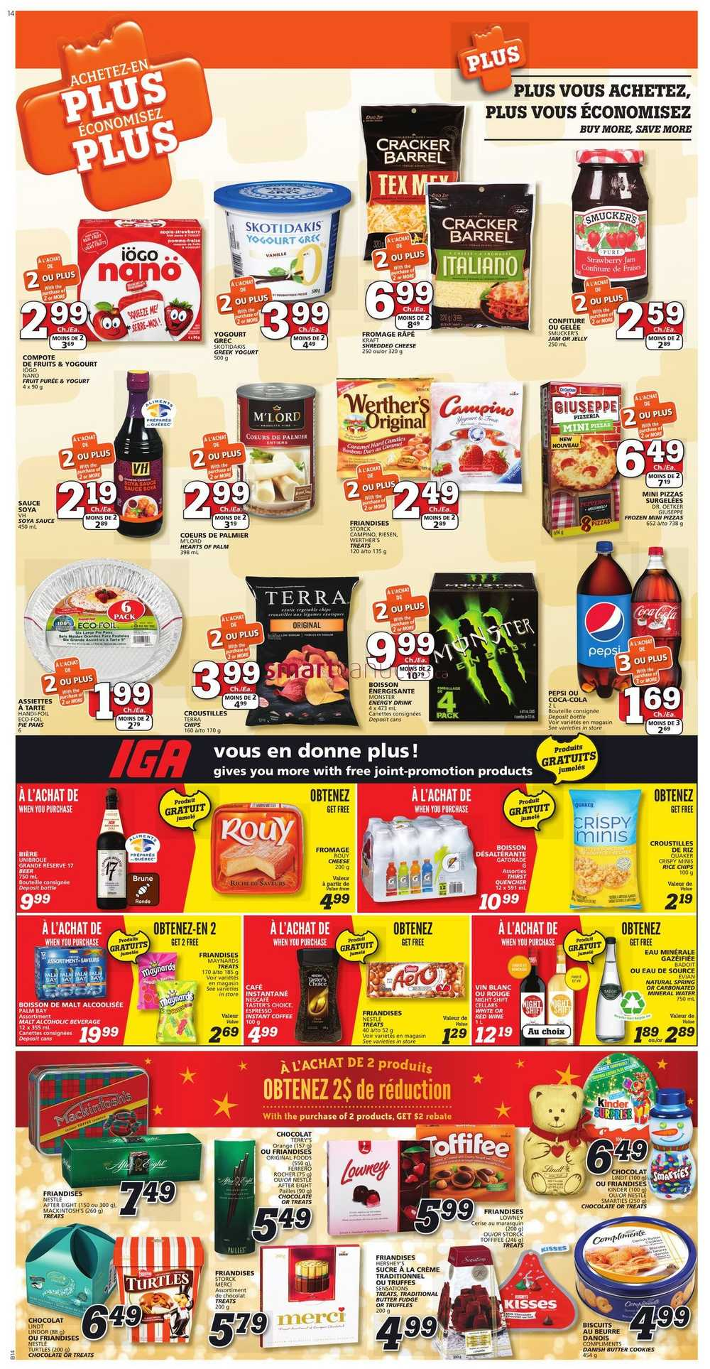 Priceless iga coupons