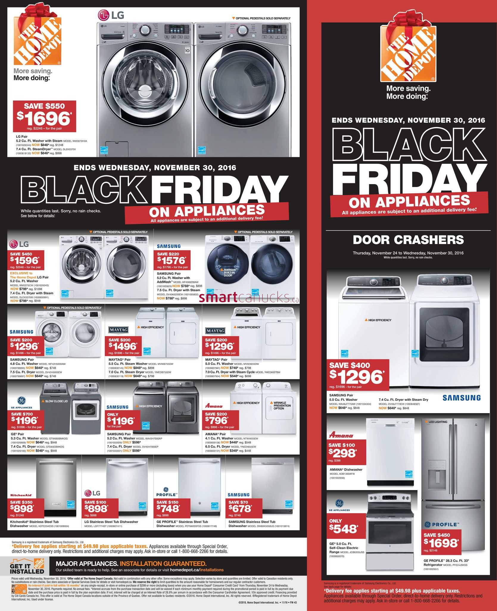 Home Depot Black Friday  Canada