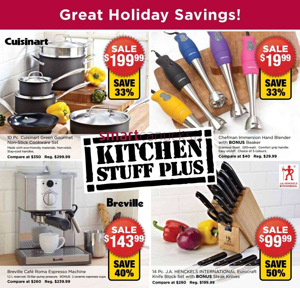 Kitchen Stuff Plus flyer Nov 28 to Dec 9