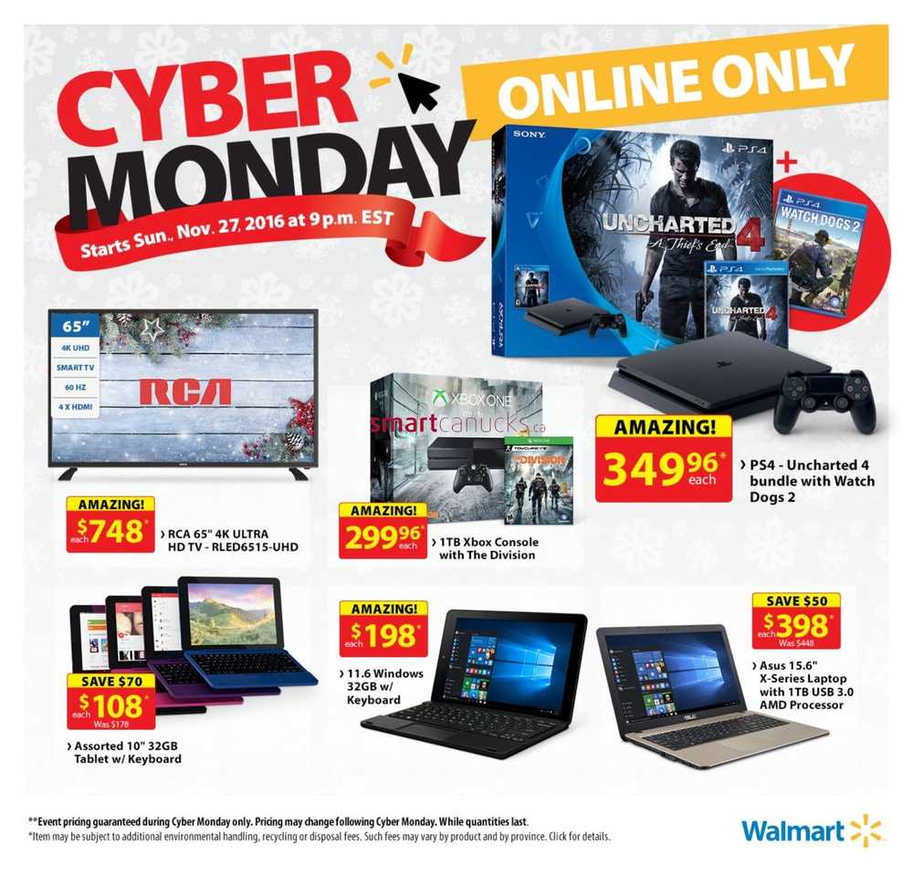 Top Walmart Canada Cyber Week Deals