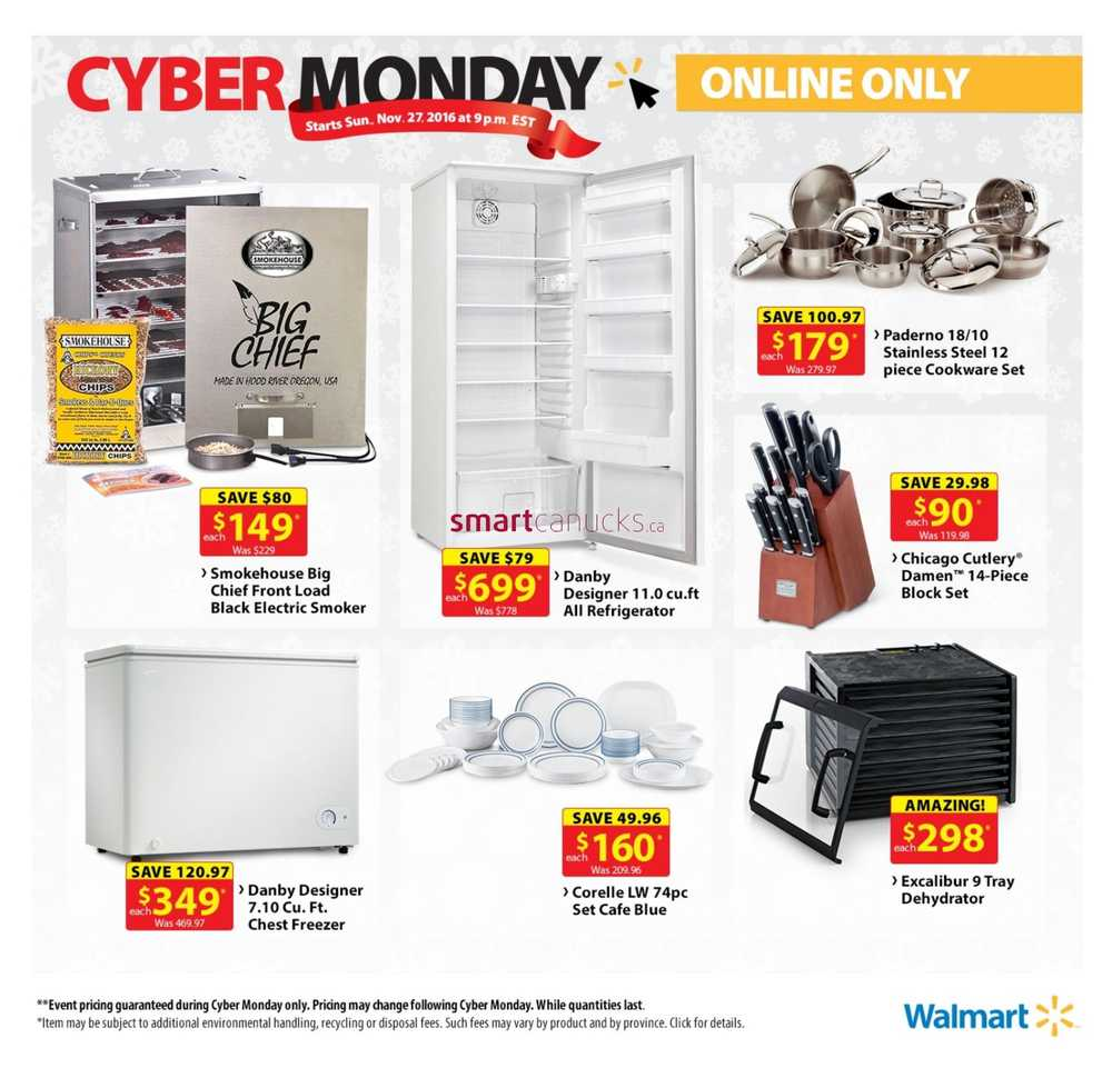 Walmart is famous for offering some of the best Black Friday deals in retail, and it keeps bringing the savings after Friday ends. During Walmart Cyber Monday, the retailer caters to shoppers who have a love for deals and online shopping/5().