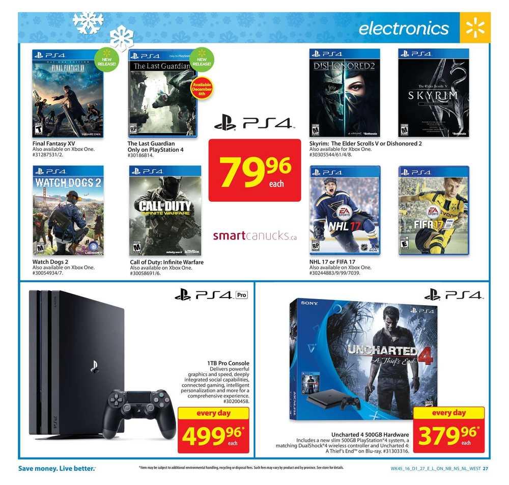 November | 2016 | Walmart Canada Flyers, Coupons & Sales