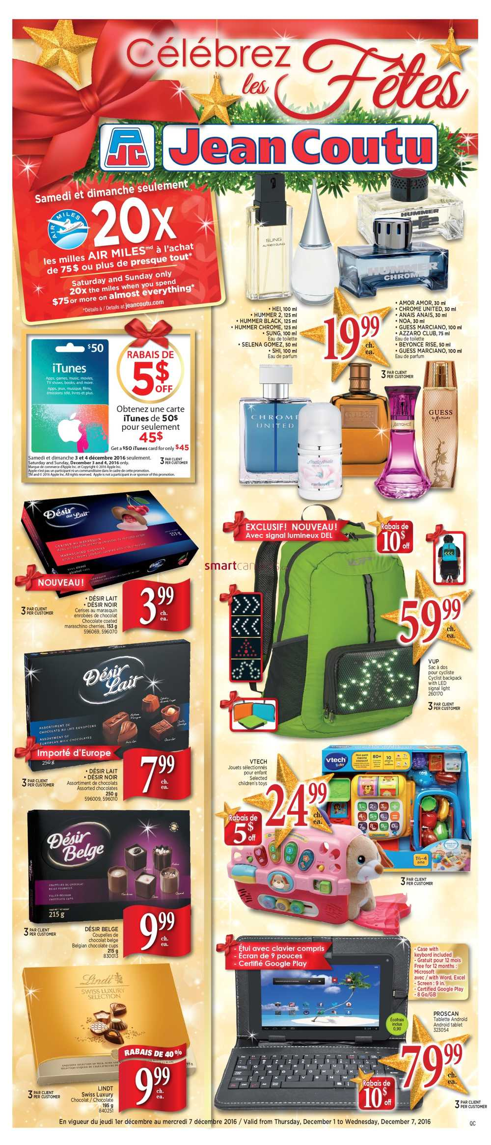 Jean Coutu Qc Flyer December 1 To 7