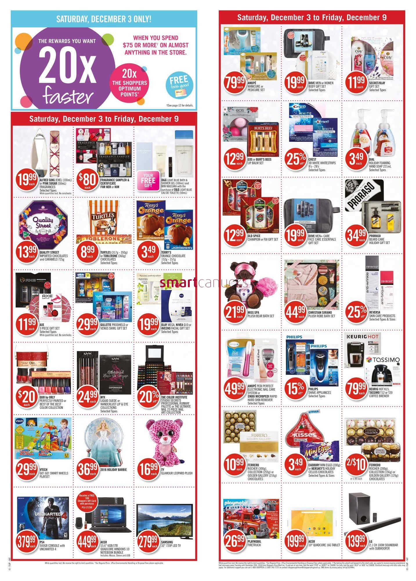 Shoppers Drug Mart On Flyer December 3 To 9