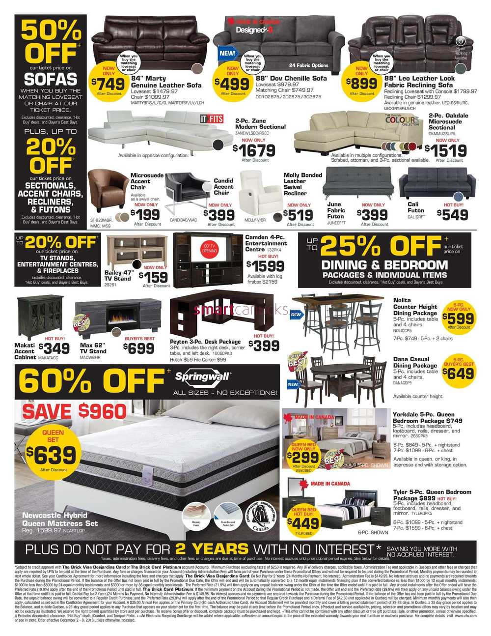United Furniture Warehouse Flyer December 2 To 8