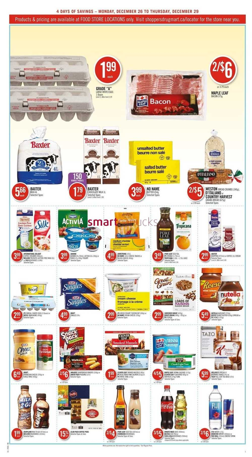 shoppers drug mart atlantic boxing week flyer december. Black Bedroom Furniture Sets. Home Design Ideas