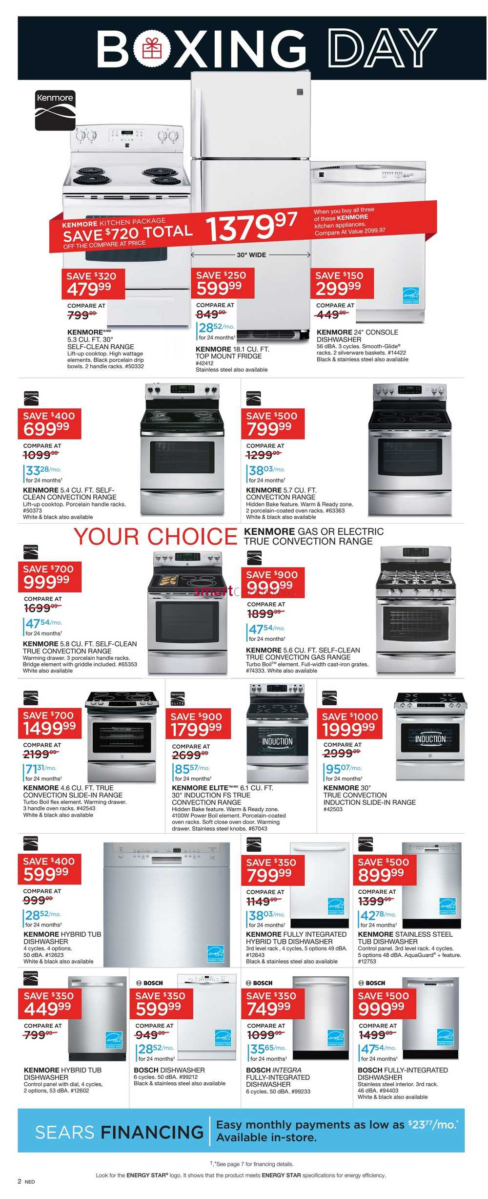 Whether you're shopping for your home, car, office, or backyard, there's a good chance you'll find what you're looking for at Sears. The respected retailer's inventory is both comprehensive and diverse, encompassing everything from stainless steel refrigerators to above-ground trampolines.