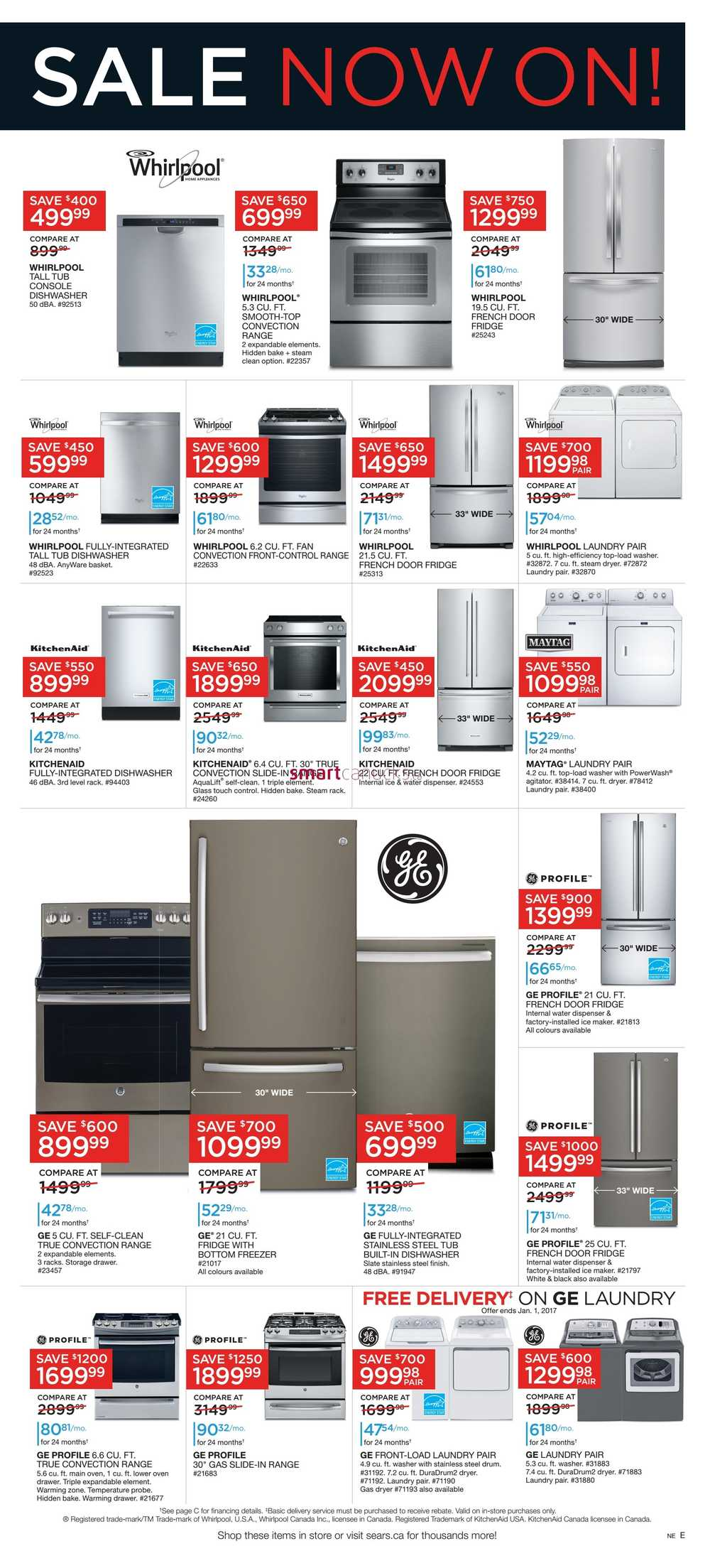 Shop the best front load washing machines from all the top brands at Sears. Sears carries premier appliances at amazing prices, so you always get a good deal.