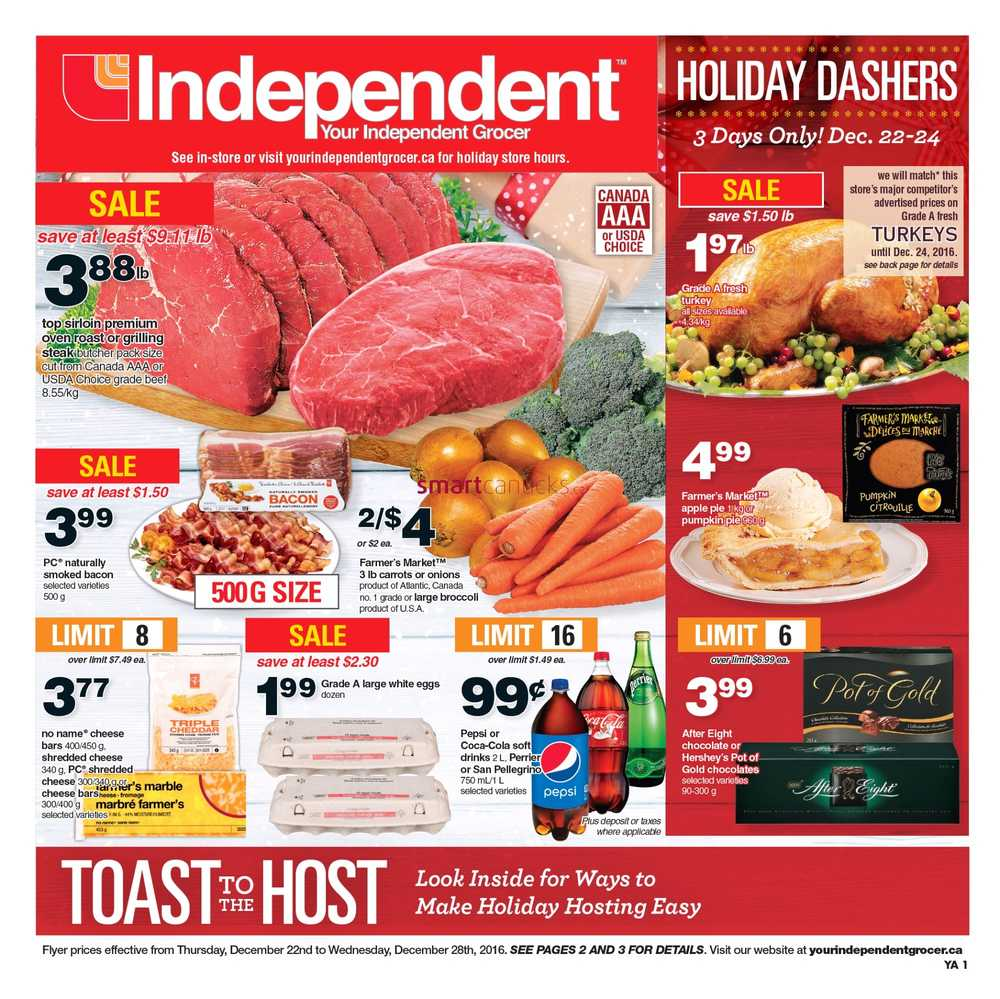 Independent Grocer Atlantic Flyer December 22 To 28