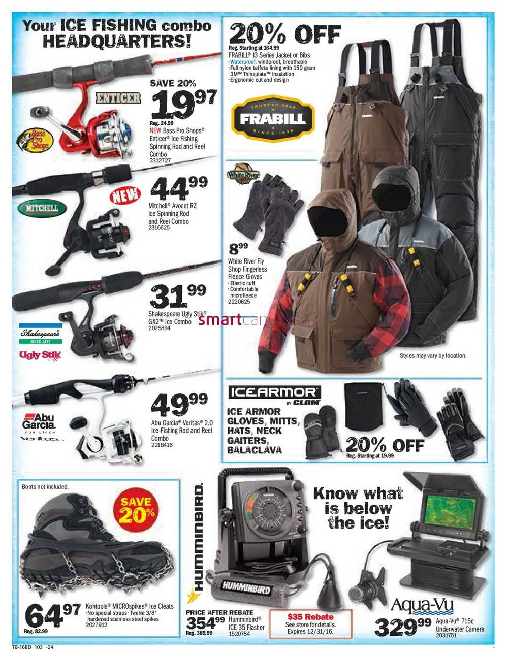 Bass Pro Shops Boxing Week Sale & Clearance Flyer December