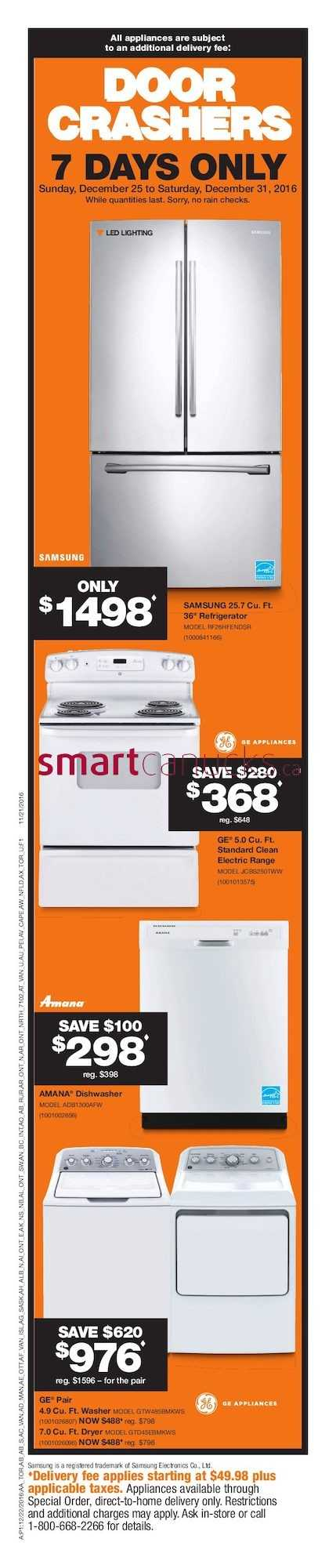home depot boxing week flyer december 22 to 28 2016