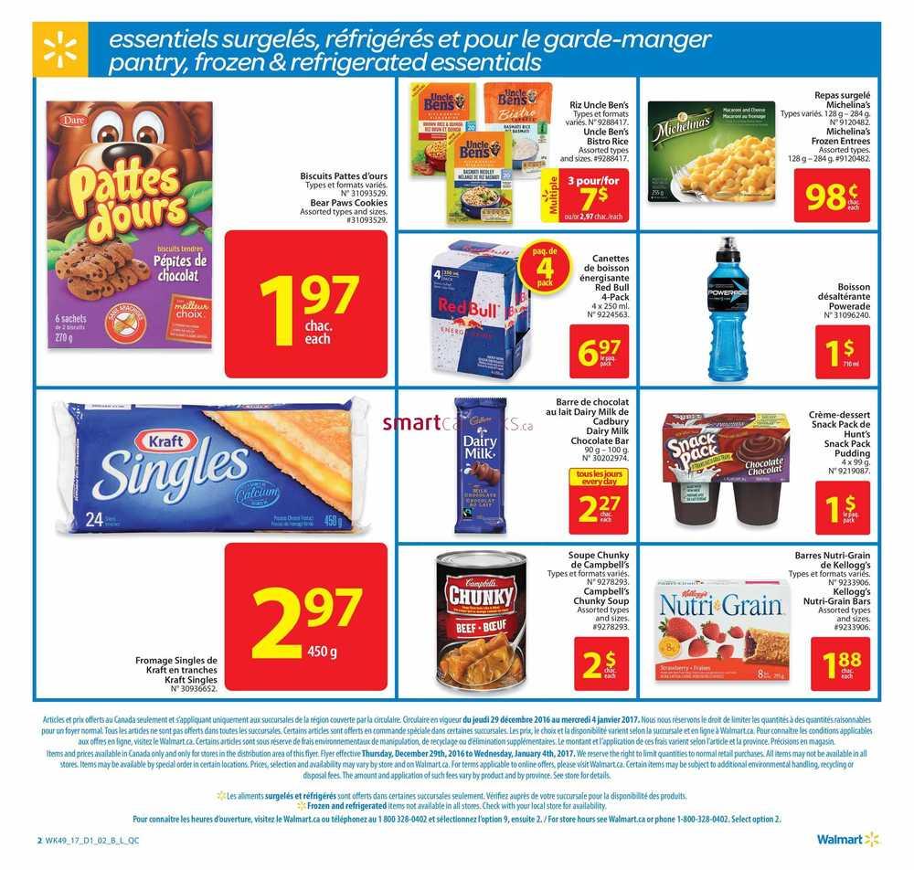 Walmart Qc Flyer December 29 To January 4