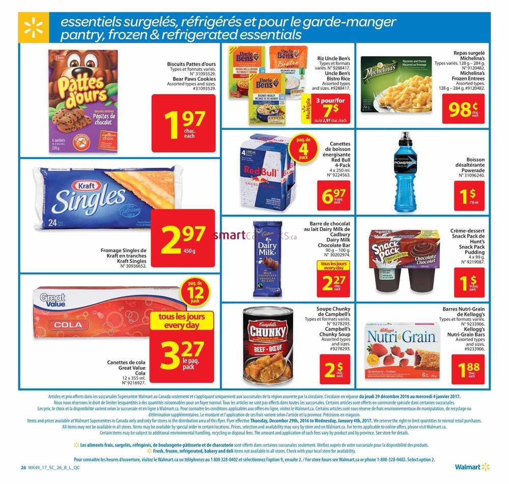 Walmart Supercentre Qc Flyer December 29 To January 4