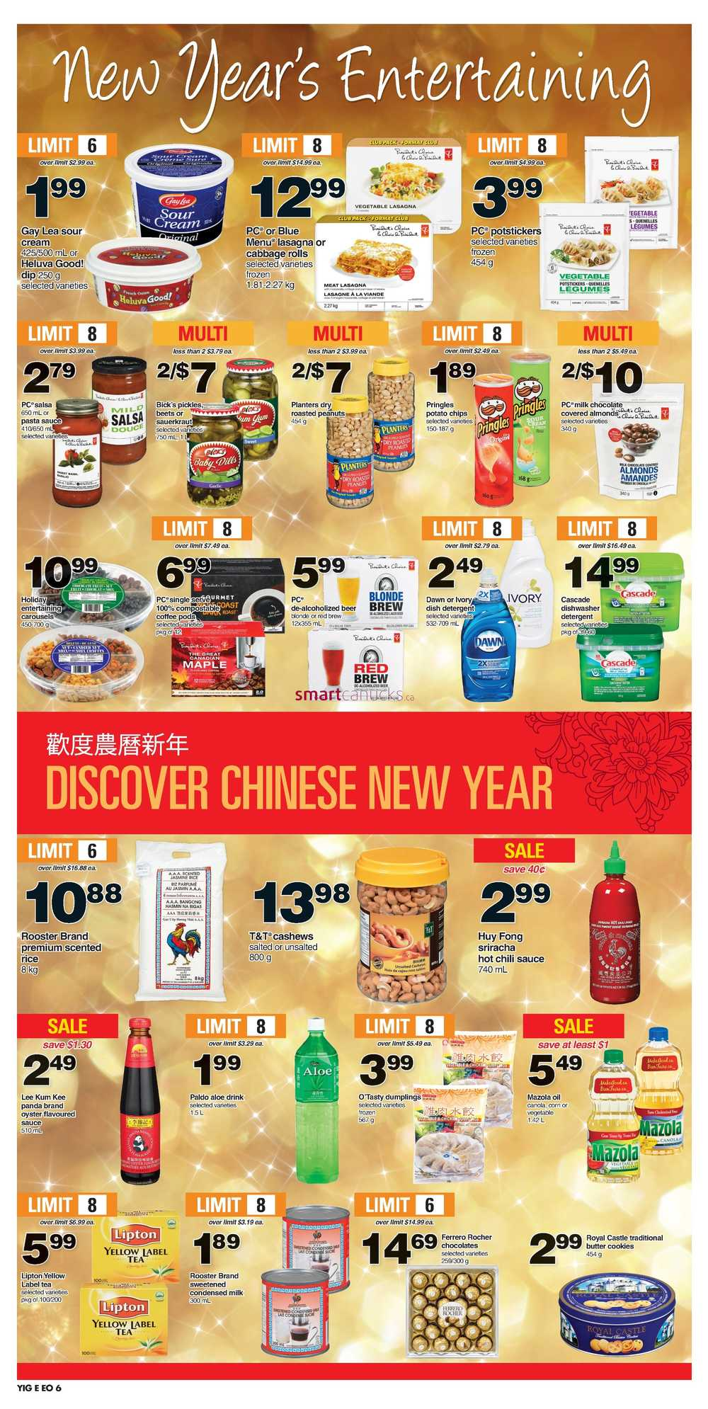 Independent Grocer Ottawa Region Flyer December 29 To