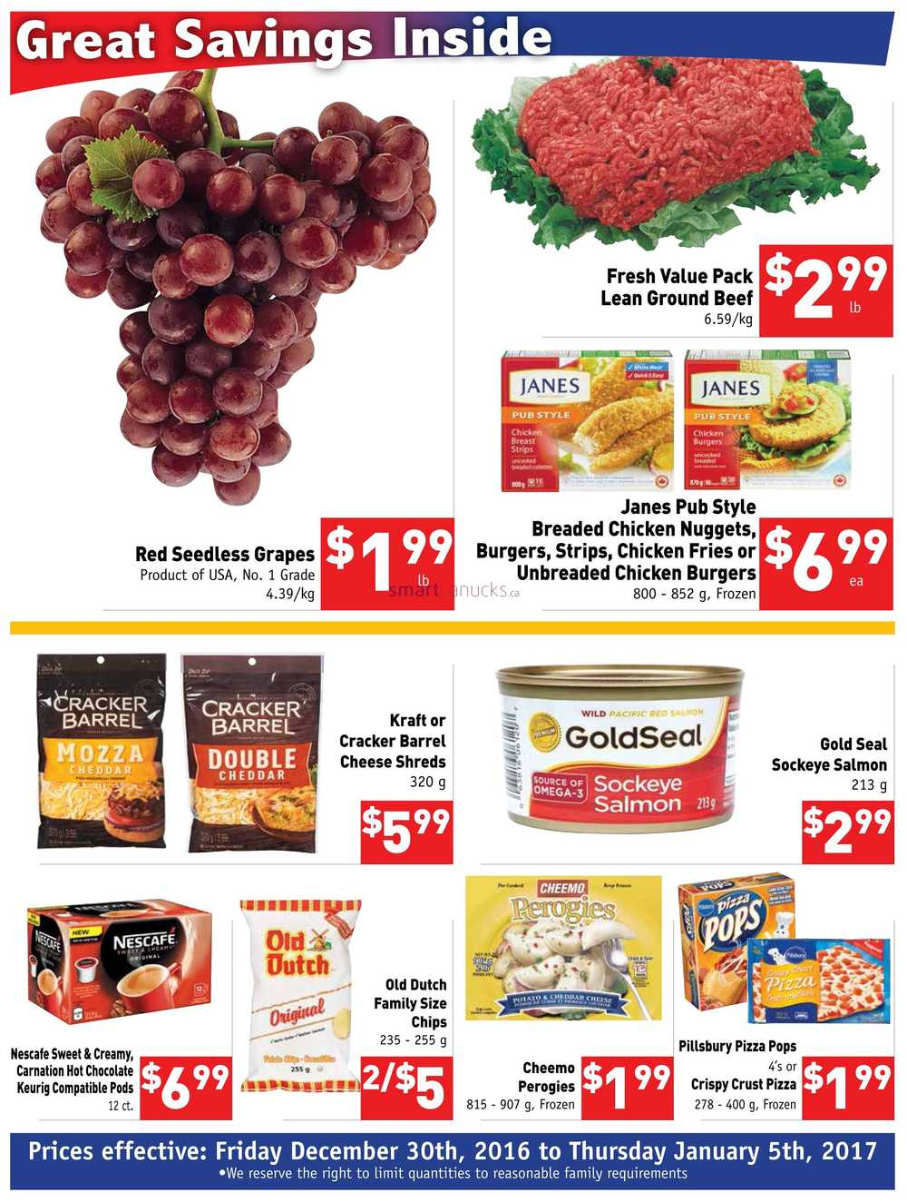 B H Your Community Grocer Flyer December 30 To January 5