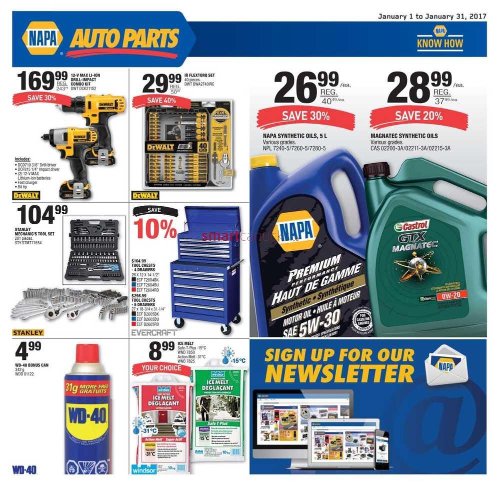 Napa Auto Parts Coupons Printable 2018 : Coupons Rabais Du