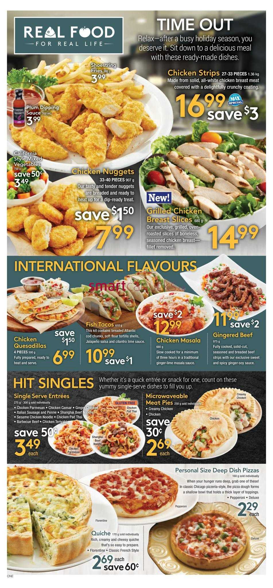M And M Food Market Flyer