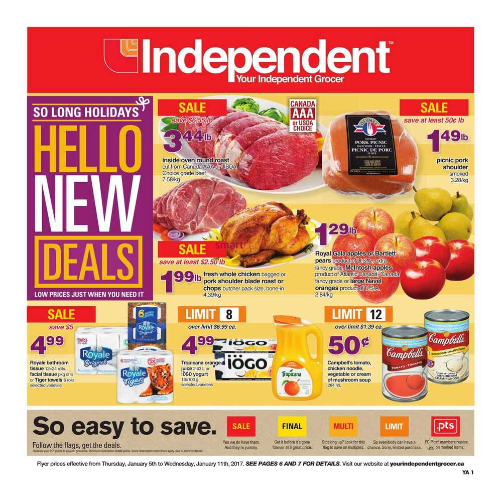 Independent Grocer Atlantic Flyer January 5 To 11