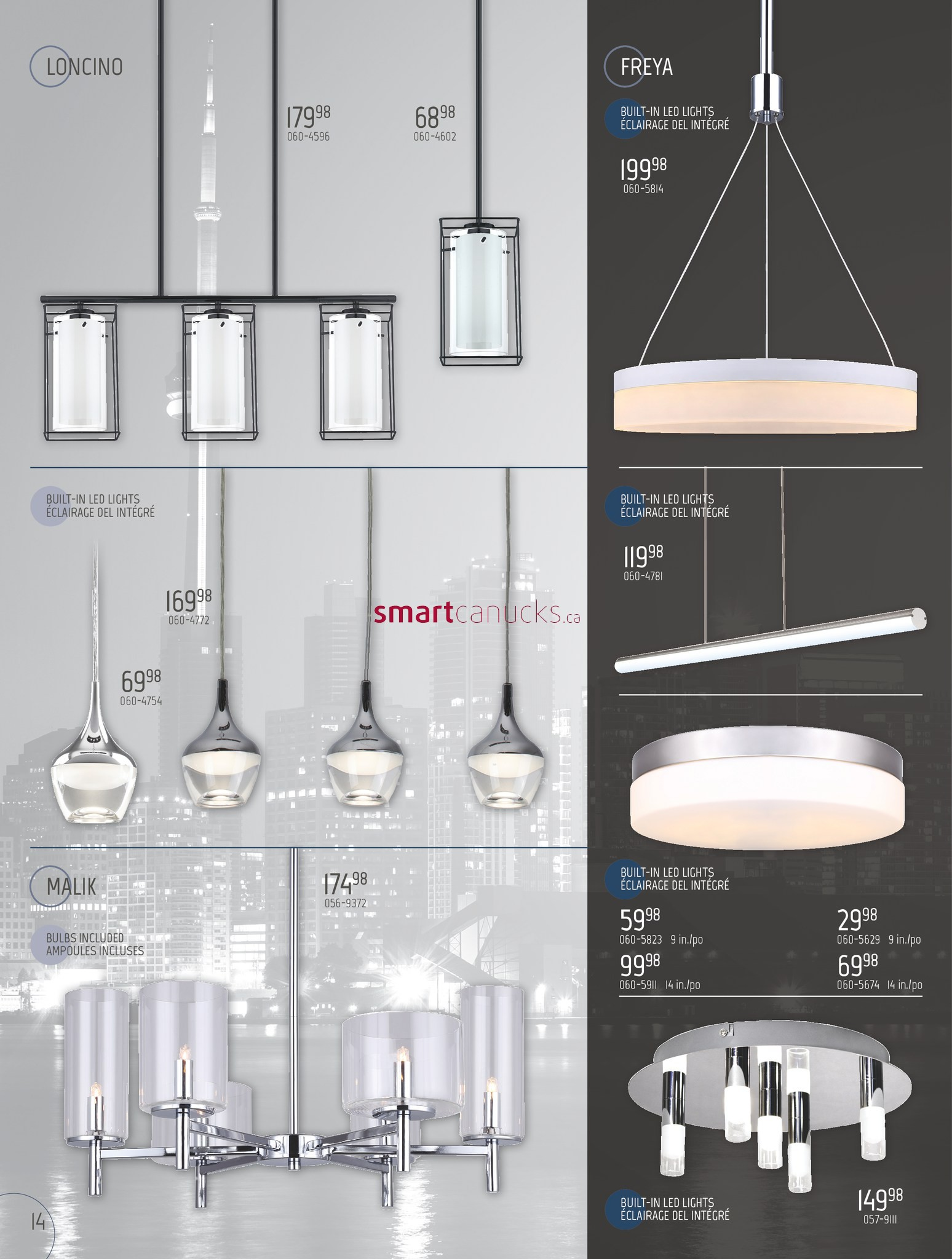 & BMR Lighting Collection Flyer January 17 to December 31 azcodes.com