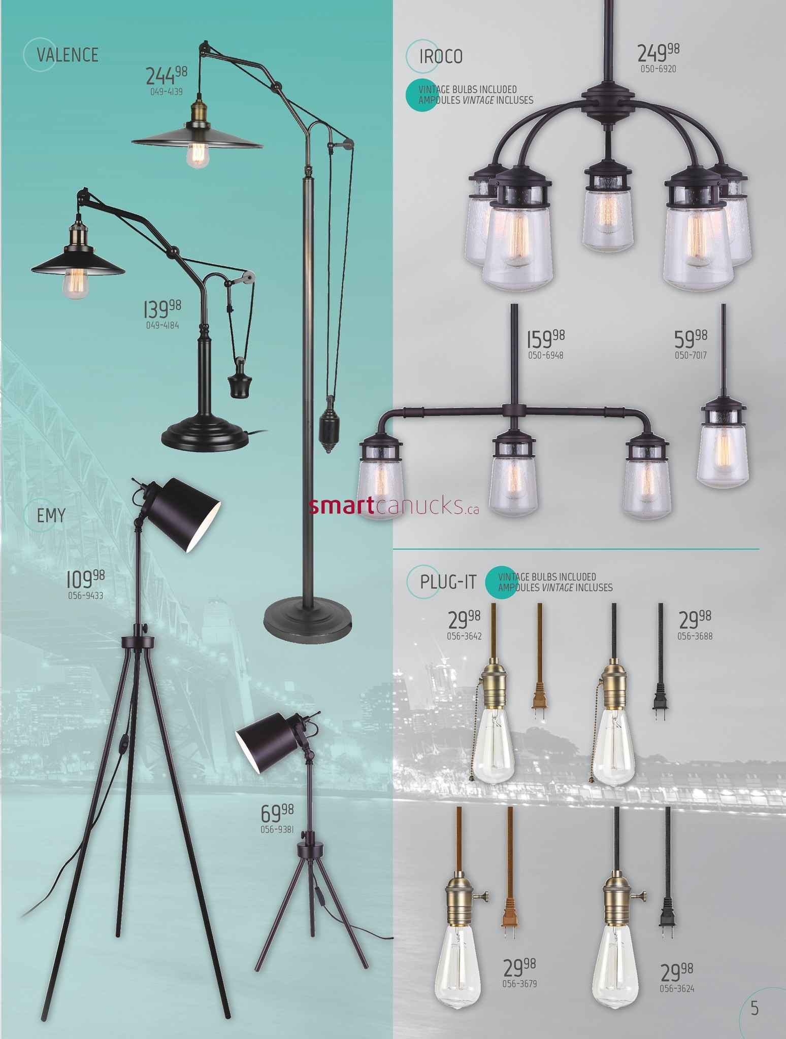 View Single & BMR Lighting Collection Flyer January 17 to December 31 azcodes.com