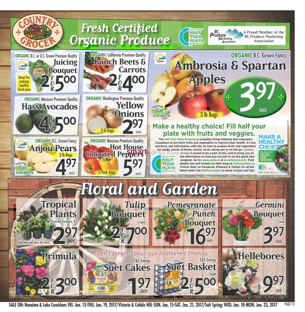 Country Grocer Flyer January 13 To 19