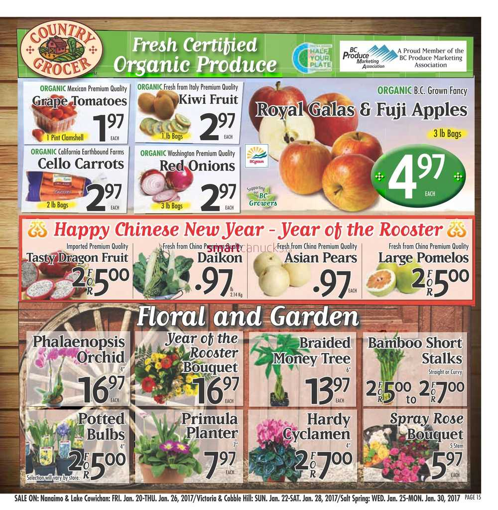 Country Grocer Flyer January 20 To 26