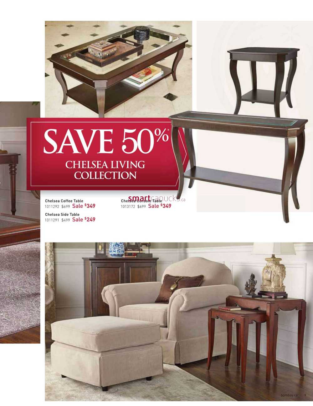 Bombay big furniture sale catalogue january 19 to february 22 for Biggest furniture sale
