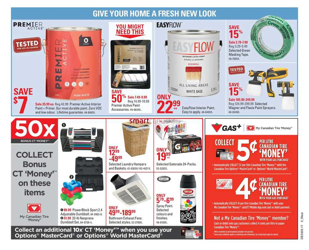 Canadian tire discount coupon