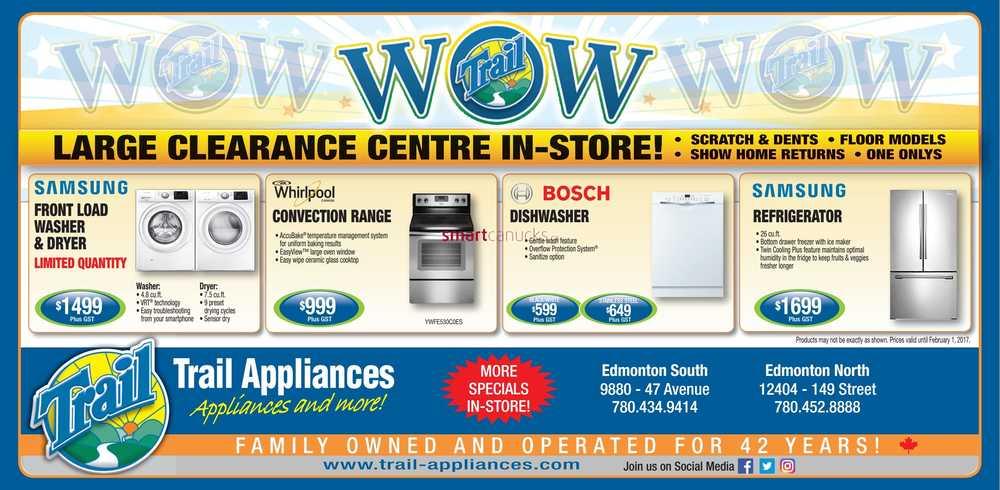 Appliances Deals Edmonton Dawn Coupons Nov 2018