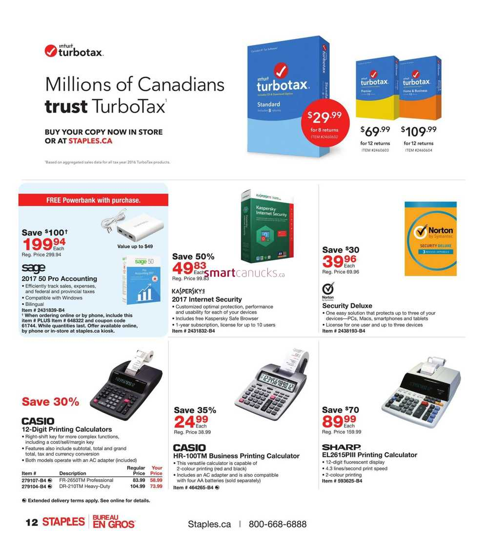 Check the latest Staples flyers online for the best deals near you. Free shipping on orders $45 or more.