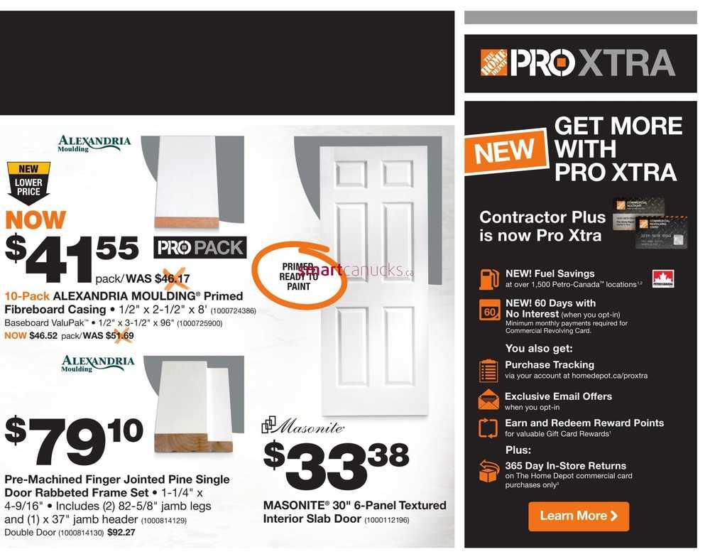 Home Depot Pro Savings Flyer January 31 To February 13