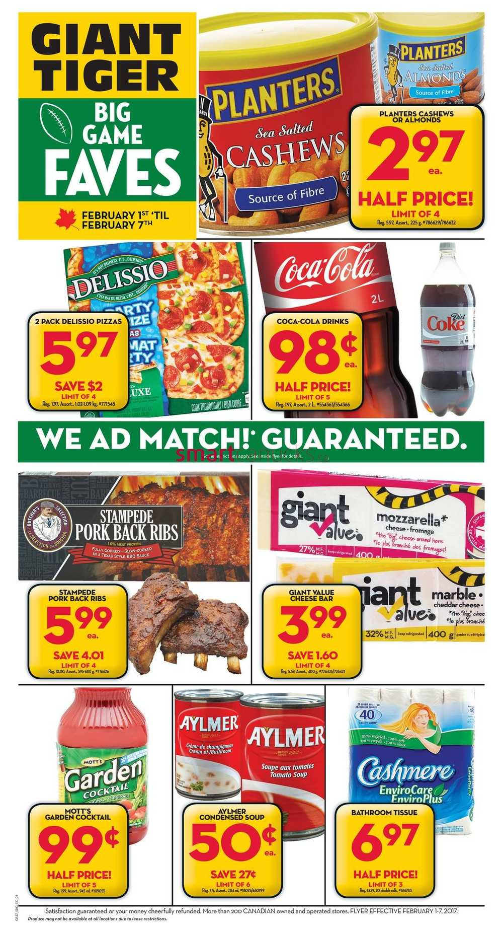 Giant Food Markets Flyer
