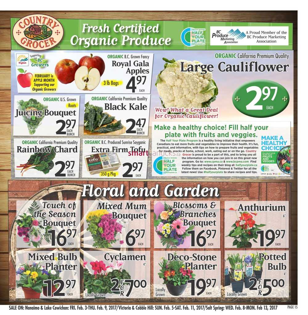 Country Grocer Flyer February 3 To 9