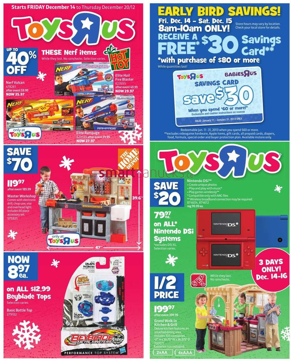 All Toys Toys R Us : Toys r us flyer dec to