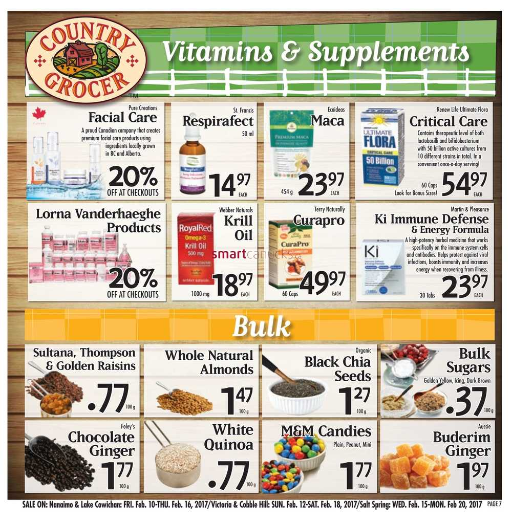 Country Grocer Flyer February 10 To 16